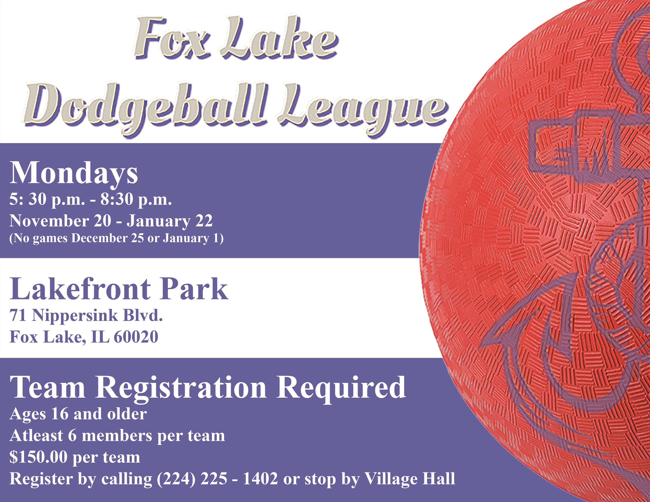 Dodgeball League Final