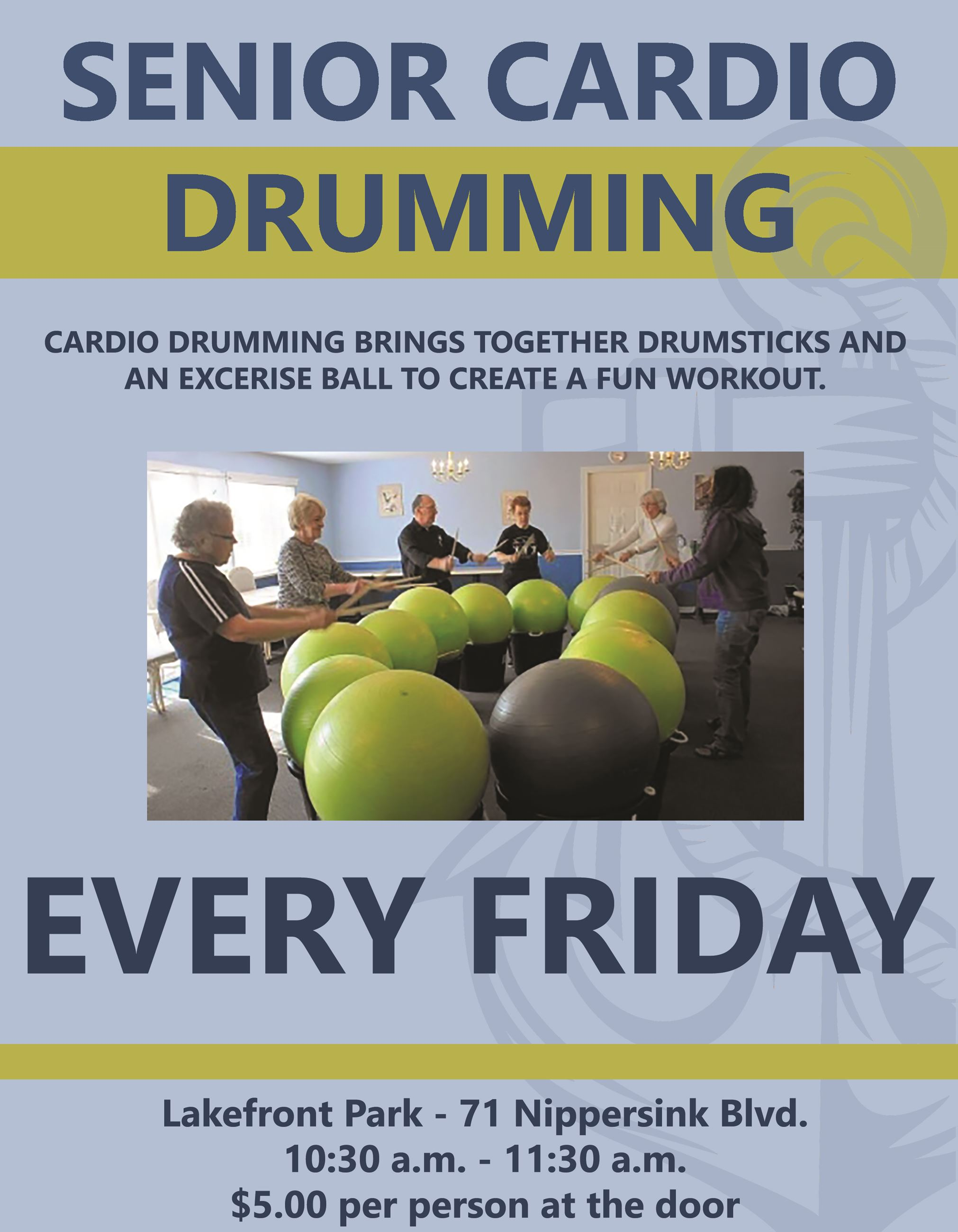 CARDIO DRUMMING FRIDAY