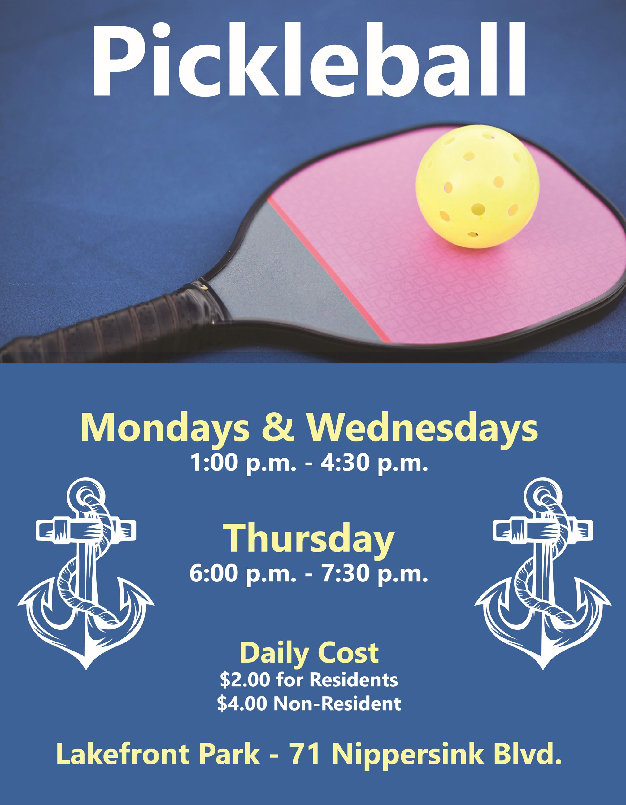 Evening Pickleball
