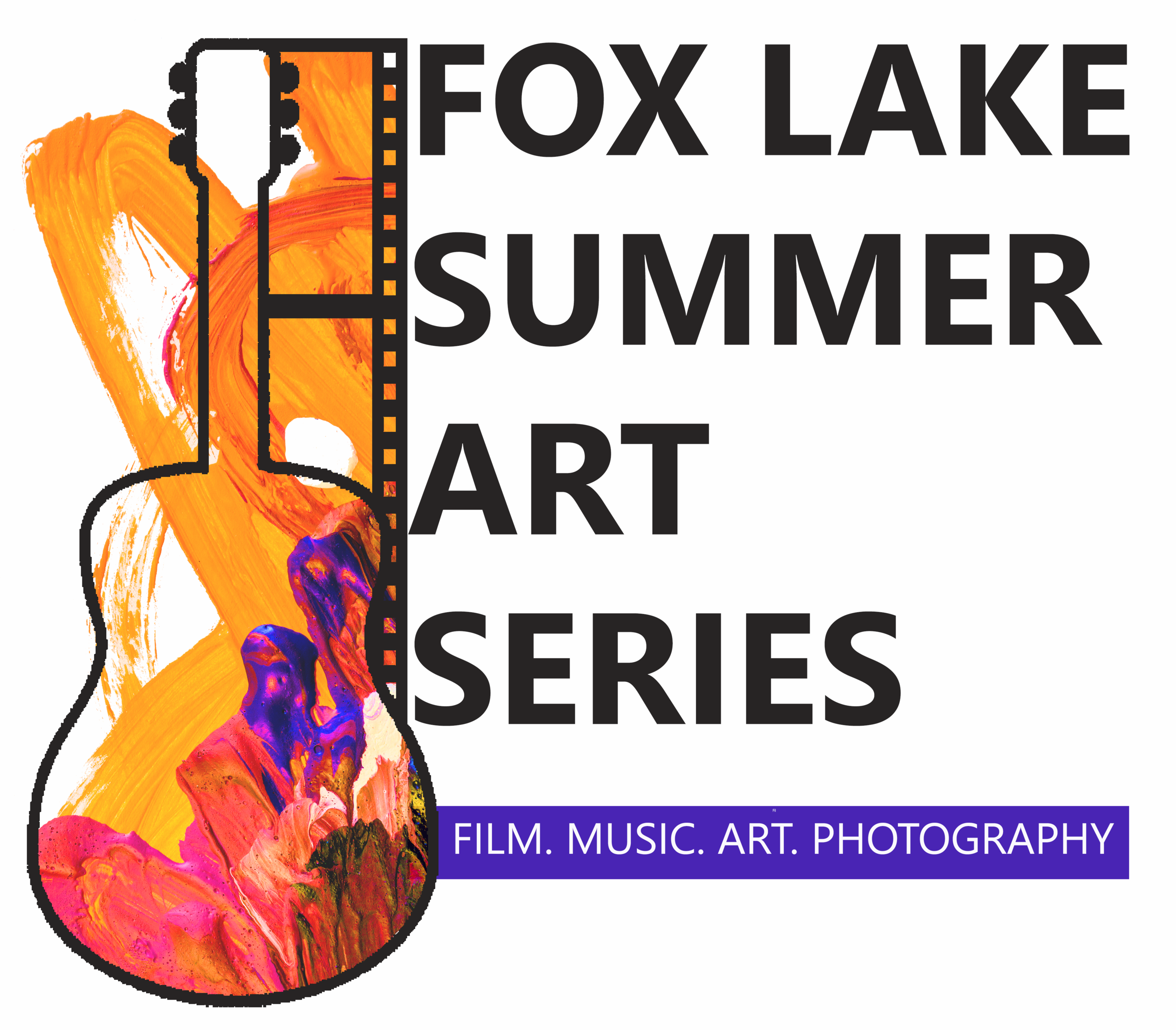 SUMMER ART SERIES LOGO WITH WORDS