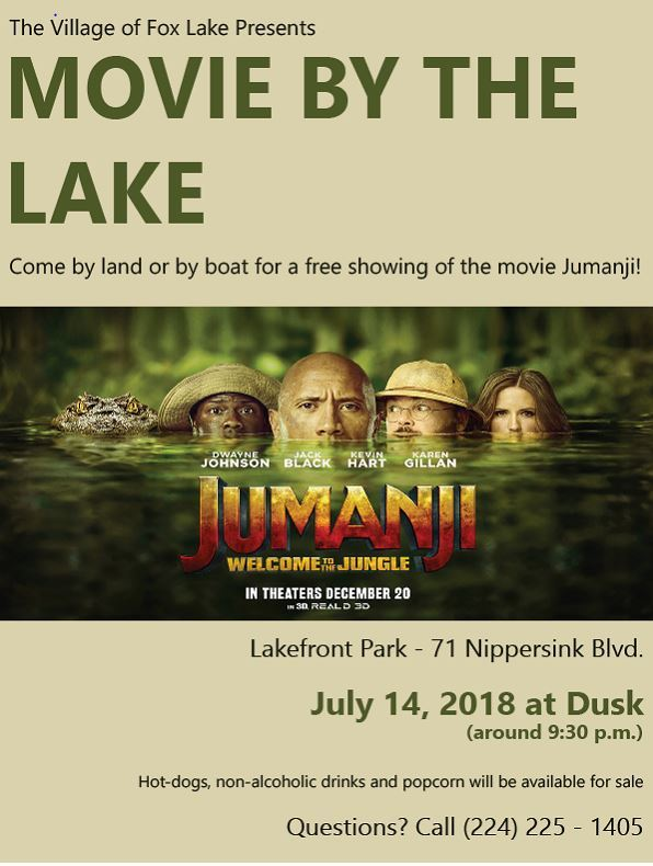 Movie by the Lake