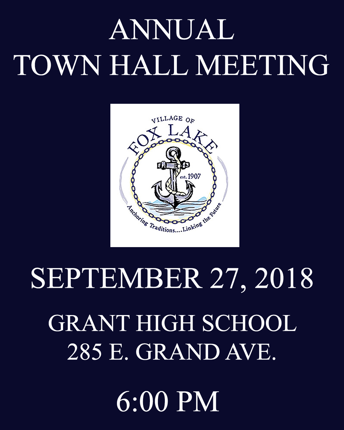 TOWNHALL MEETING 2018