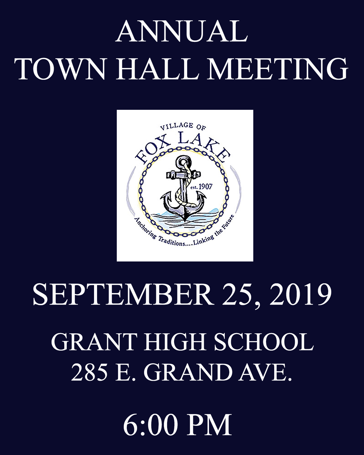 TOWNHALL MEETING 2019