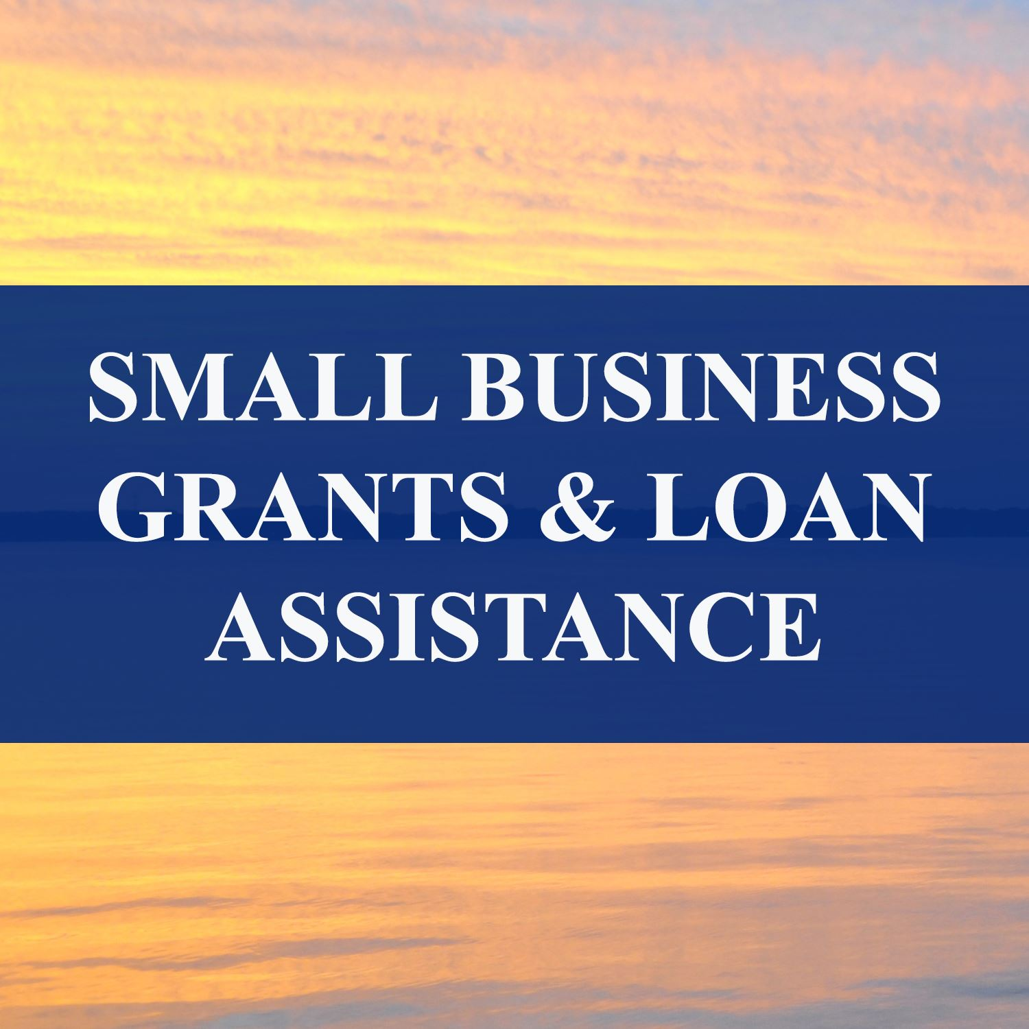 Small Business Grants and Loan Assistance