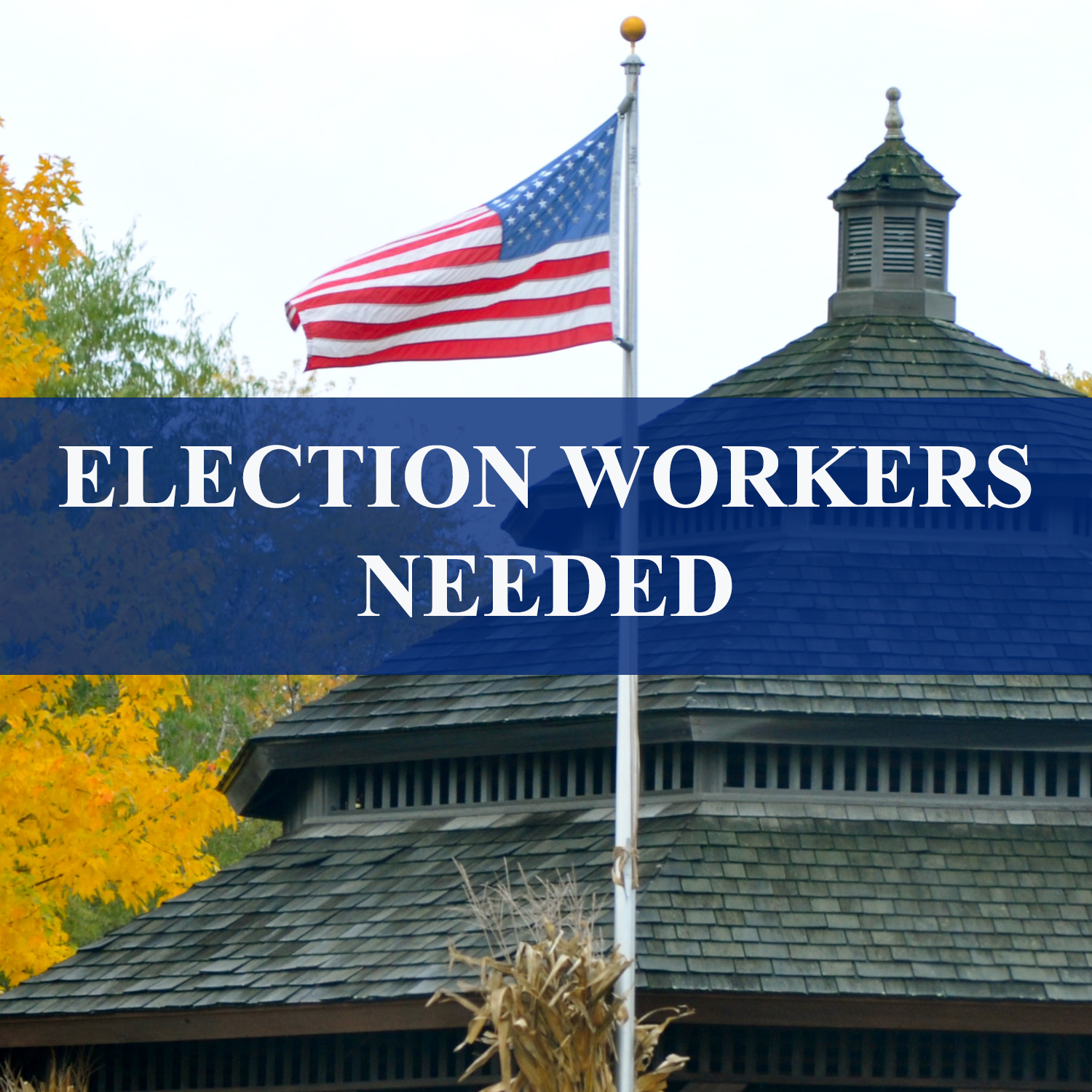 ELECTION WORKERS NEEDED