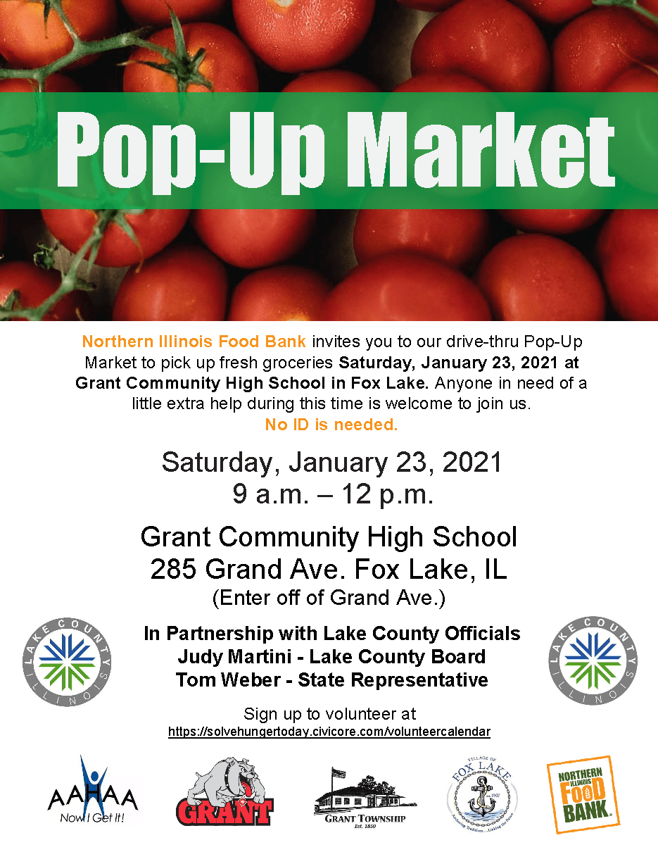 Pop-Up Market - January 23, 2021