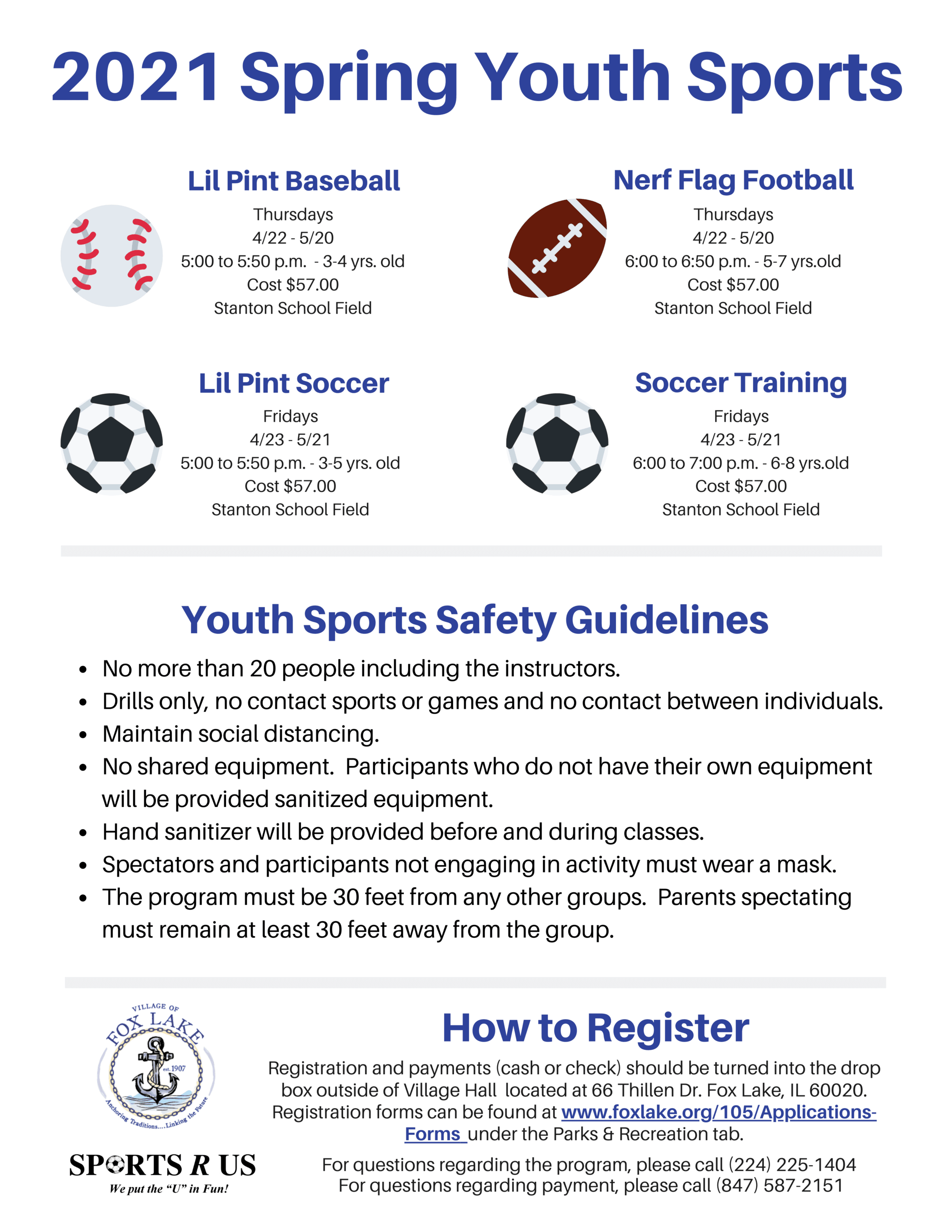 2021 Spring Youth Sports
